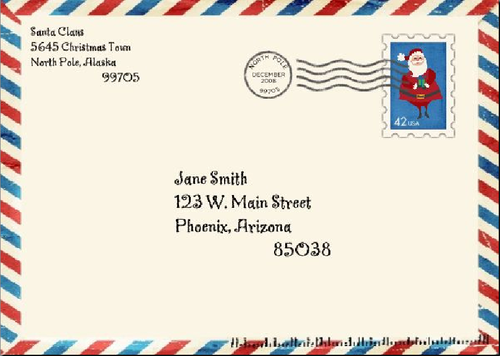 send a letter to santa | gplusnick